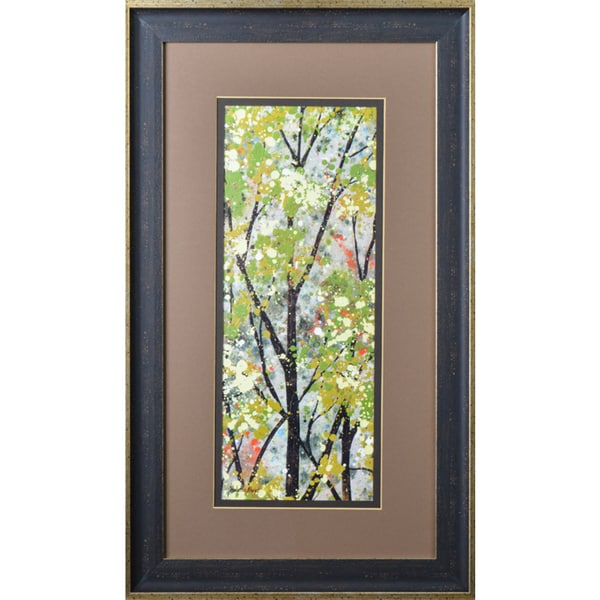 Helena Alves 'Textures of Summer II' Framed Print