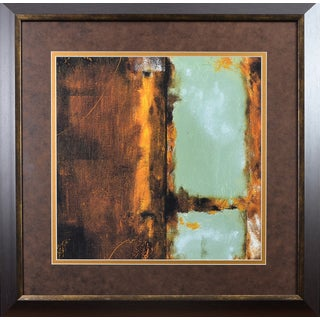 Marc Johnson 'Copper Age II' Framed Print