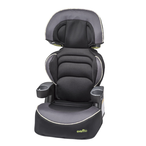 Evenflo Big Kid LX Booster Car Seat in Zeke