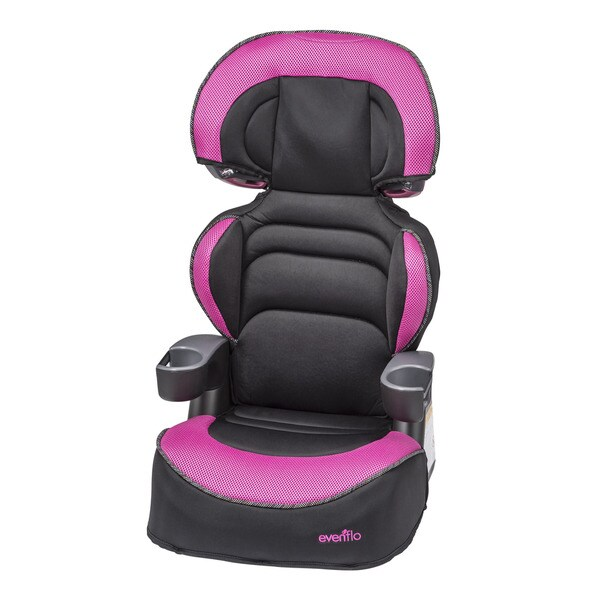 evenflo big kid high back booster car seat in phoebe. Black Bedroom Furniture Sets. Home Design Ideas