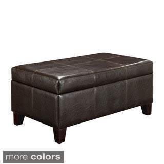Rectangle Storage Ottoman