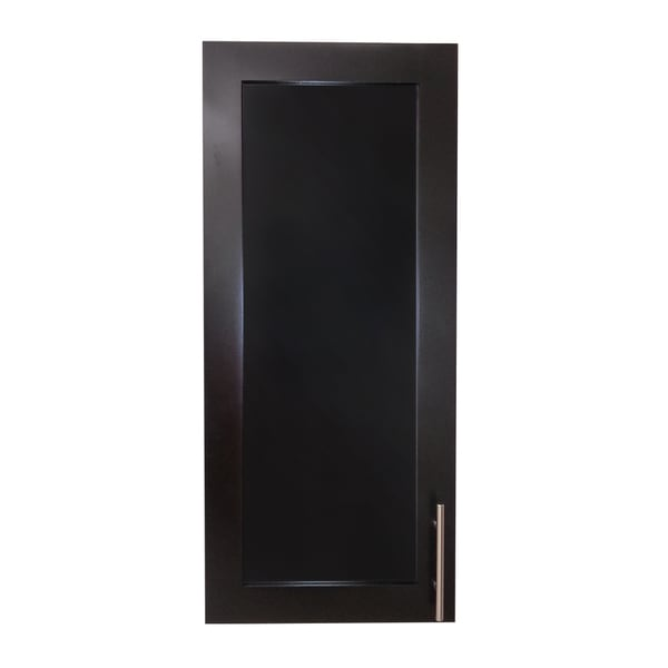 Wall Mounted Shallow Depth Classic Frameless Cabinet ...