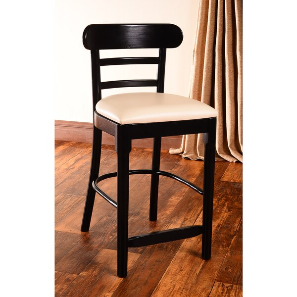 Black/ Cream Corona Counter Stool