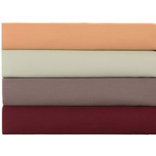 Nicole Miller Cotton Sateen 4-piece Sheet Sets