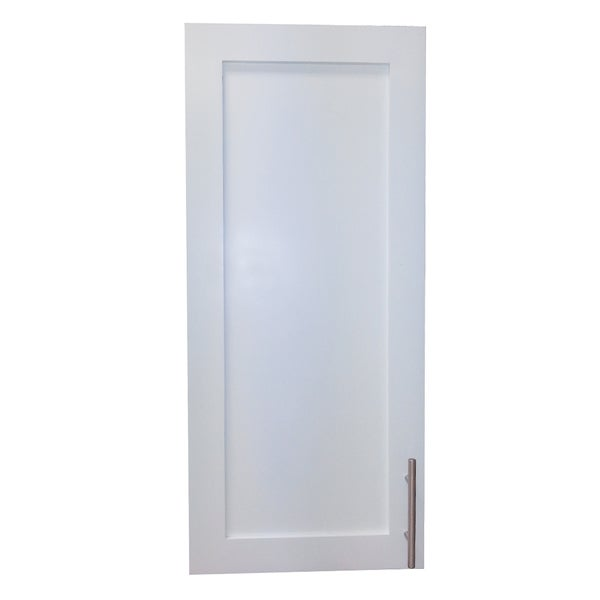 Classic White Enamel Wall Mounted Shallow 2 5 Inch Depth 30 Inch Frameless Cabinet 16799443