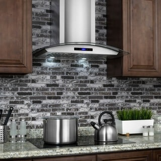 AKDY 30-inch OSWRH668AS-30-AK Stainless Steel Wall Mount Range Hood