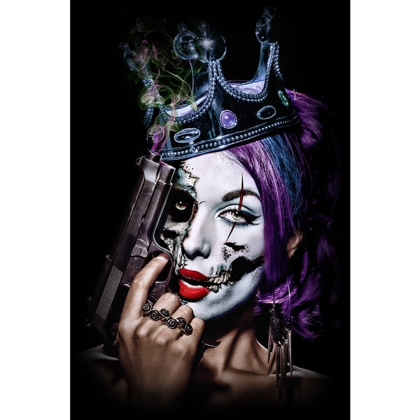 Daveed Benito 'Killer Queen' Gallery-wrapped Canvas Print