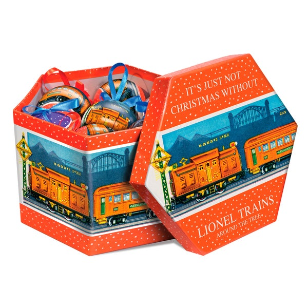 Lionel Trains Pre-war Ornament Gift Box