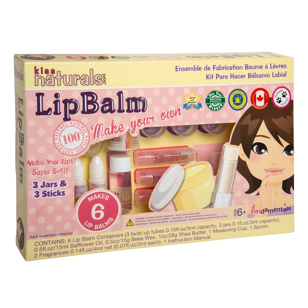 Fundamentals Toys Kiss Naturals DIY Lip Balm Making Kit
