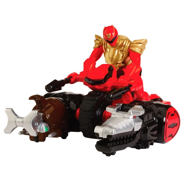 Bandai Power Rangers Ultra Red Ranger Zord Vehicle
