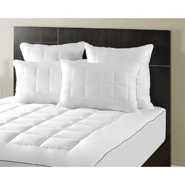 Maison luxe ultimate comfort support luxury pillow top for Maison pad