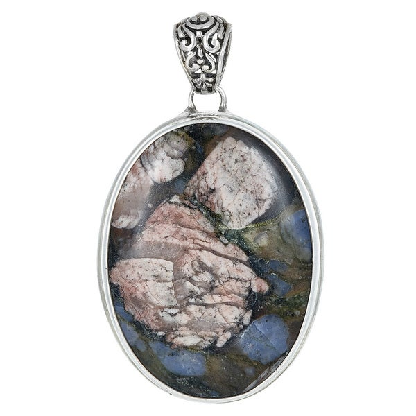 Agate in Sterling Silver Pendant