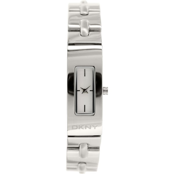 Dkny Women's Beekman NY2138 Silver Stainless-Steel Analog Quartz Watch with White Dial