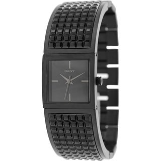 Dkny Women's Bryant NY2233 Black Stainless-Steel Quartz Watch with Black Dial