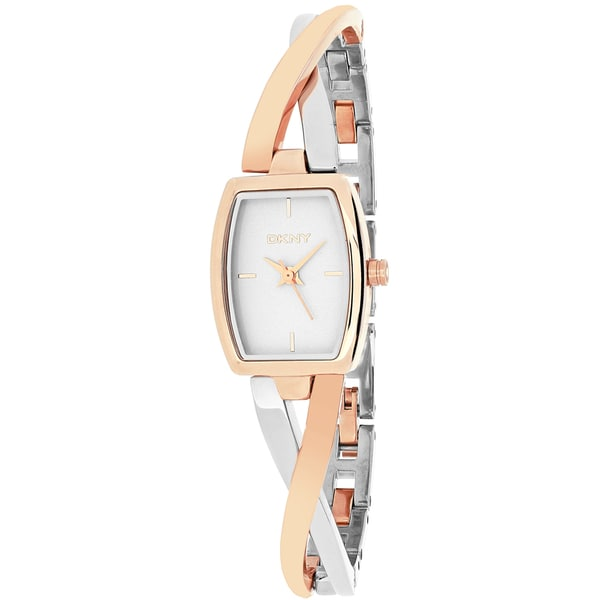 DKNY Women's Crosswalk NY2236 Two-tone Stainless Steel Analog Quartz Watch