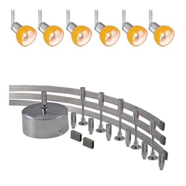 Jesco 6-light 300-watt Low Volt Complete Monorail Spot Light Kit