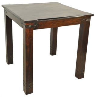 Venice Acacia Wood Counter Height Table