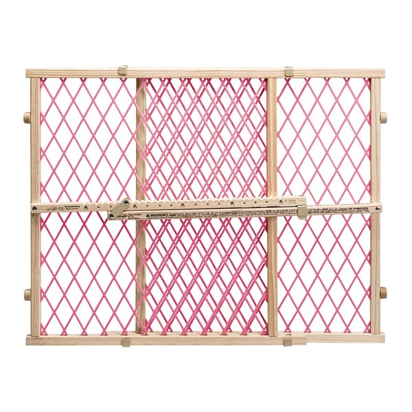 Position and Lock Pink Pressure Mount Gate