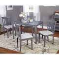 Simple Living 5pc Stratton Grey Dining Set