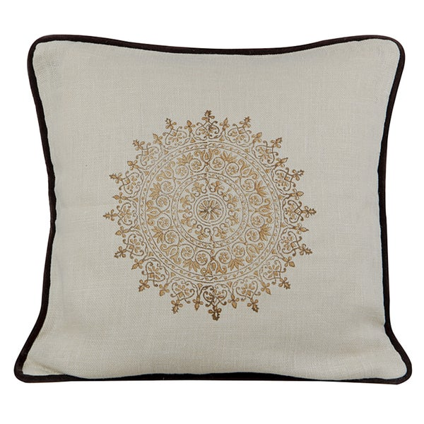 Suncrest Feather-filled Decorative Pillow