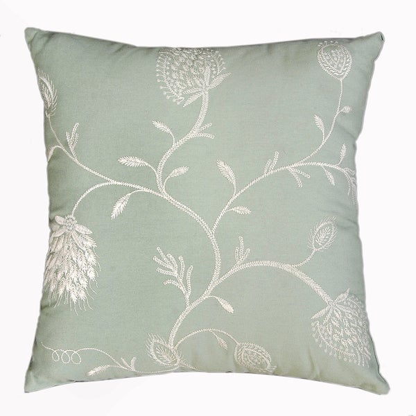 Blush Feather-filled Decorative Pillow