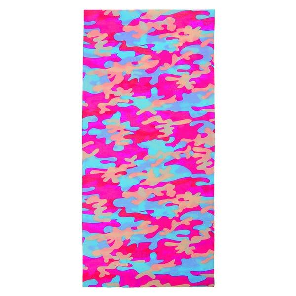 M-Wave Pink Camo Tubular Seamless Bandana
