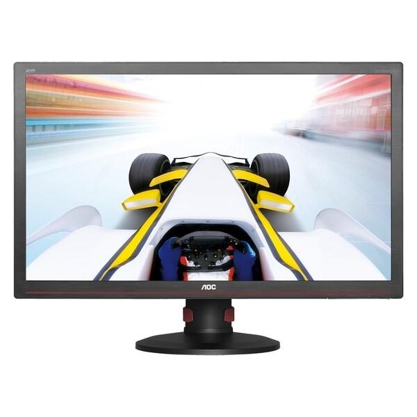 Aoc G2770pqu Led Monitor 27 Inch 1920 X 1080 Tn 300 CD/M2 1000:1 1 Ms Hdmi, Dvi-D, Vga, Displayport Speakers G2770PQU