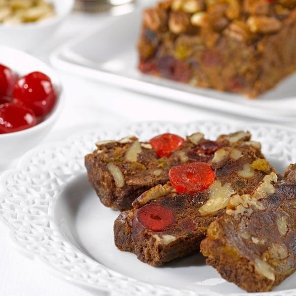 Chocolate Fruit and Nut Cake (2 Pound)