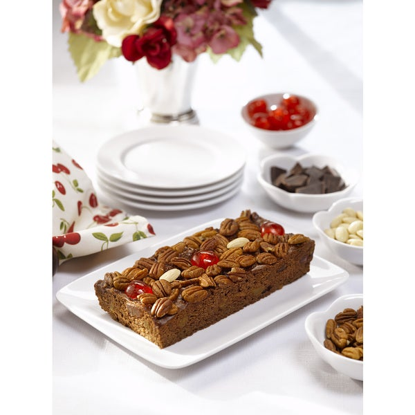 Chocolate Fruit and Nut Cake - 1 Pound