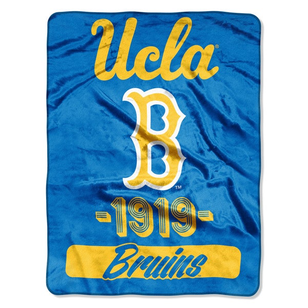 NCAA UCLA College Varsity Micro Throw Blanket