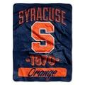 NCAA Syracuse College Varsity Micro Throw Blanket