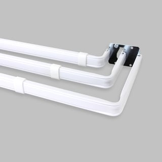 Lockseam Triple Curtain Rod