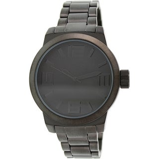 Kenneth Cole Reaction Men's RK3242 Black Stainless-Steel Quartz Watch with Black Dial