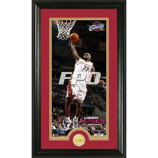 NBA LeBron James Bronze Coin Panoramic Photo Mint
