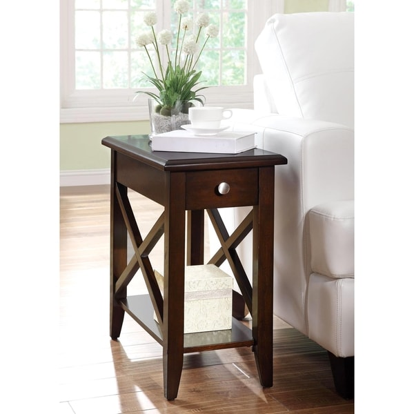 X-style Transitional Accent Table