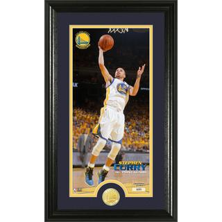 NBA Stephan Curry Bronze Coin Panoramic Photo Mint