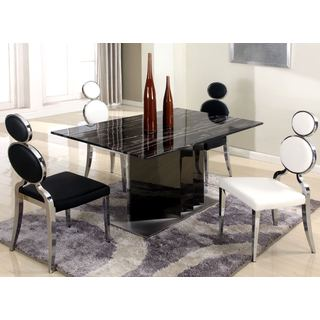Chintaly Oprah Double Ring 5-piece Dining Set