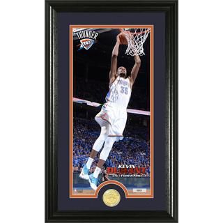 NBA Kevin Durant Bronze Coin Panoramic Photo Mint