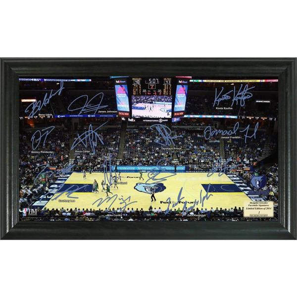NBA Memphis Grizzlies Signature Court