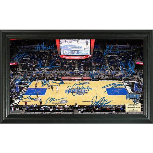 NBA Orlando Magic Signature Court
