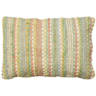 LNR Home Contemporary Jade 16 x 24 Throw Pillow