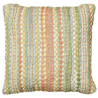 LNR Home Contemporary Jade 20-inch Throw Pillow