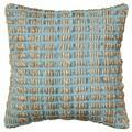 LNR Home Contemporary Blue 18-inch Throw Pillow