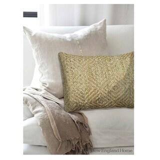 LNR Home Contemporary Green 16 x 24 Throw Pillow