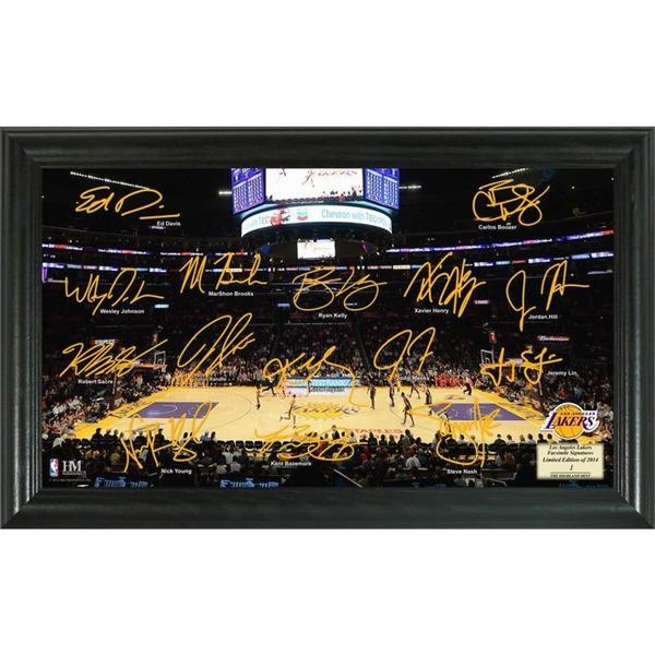NBA Los Angeles Lakers Signature Court