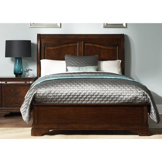 Liberty Autumn Brown Sleighbed