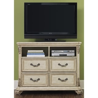 Liberty Antique Ivory 4-Drawer Media Chest