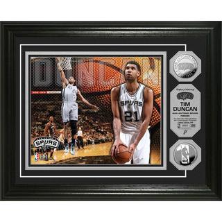 NBA Tim Duncan Silver Coin Photo Mint