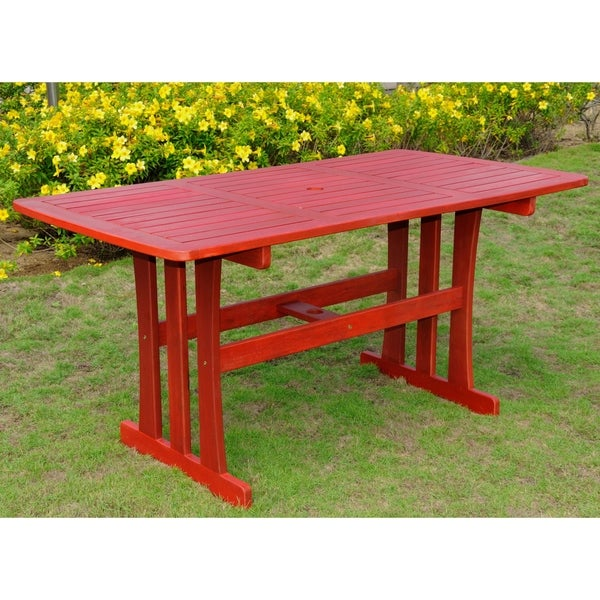 International Caravan Acacia 59 x 32 Rectangular Dining Table