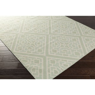 Beth Lacefield Hand-woven Brierley Reversible Wool Rug (2' x 3')